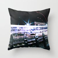 Sprint Throw Pillow
