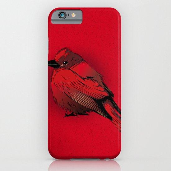 Little Red Bird iPhone & iPod Case
