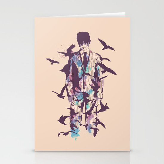 Come Fly with Me Stationery Card