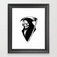 Night Reaper Framed Art Print