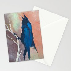 Crow Scream Stationery Cards