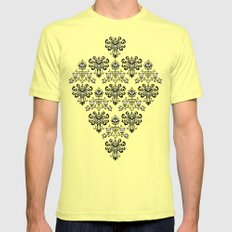Haunted Mansion Ghost Pattern iPhone 4 4s 5 5s 5c, ipod, ipad, pillow case and tshirt SMALL Lemon Mens Fitted Tee