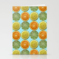 Lemons, Limes, Oranges, Oh my!  Citrus Photography Stationery Cards