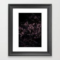 Flash Blossom Framed Art Print