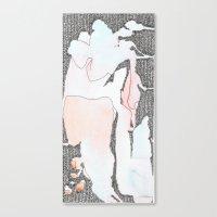 Canvas Print featuring A Flash of Colour by Tara Bateman