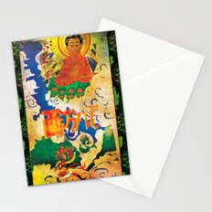 Sun Wukong Confronts Buddha Stationery Cards
