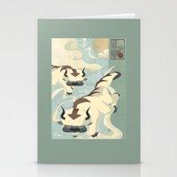 Original Bending Masters Series: Sky Bison Stationery Cards