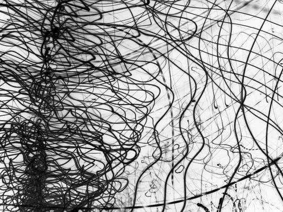 Caligraphy / 2006 Art Print