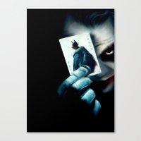 Darke Knighte Canvas Print