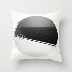Never Summer Throw Pillow