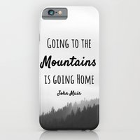 iPhone & iPod Case featuring Going to the Mountains is going Home by Jillian Schipper