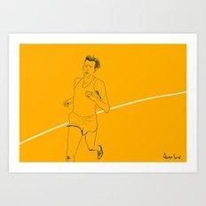 Bannister run Art Print