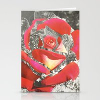 Exploded Rose Stationery Cards
