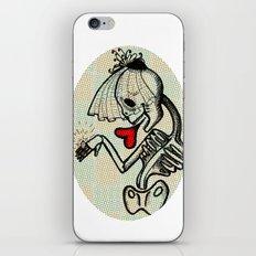 Skull Bride iPhone & iPod Skin