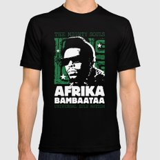 The Mighty Souls: Afrika Bambaataa Mens Fitted Tee SMALL Black