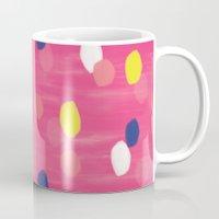 Spotty Pink Mug