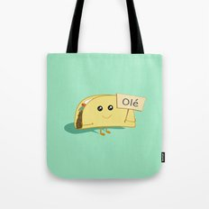 Happy Taco, Olé Tote Bag