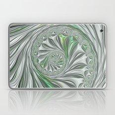 Green And Grey Laptop & iPad Skin