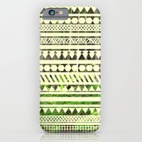 iPhone & iPod Case featuring Geometric Woods by TigerWolf