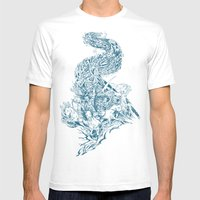 Horsemen Of The Apocalyp… Mens Fitted Tee White SMALL