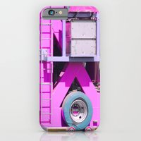 Pink pink truck iPhone 6 Slim Case