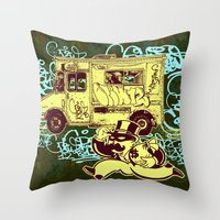 Tag Business Throw Pillow