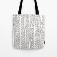 Tote Bag featuring Lost In Stripes by Bianca Green