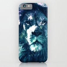 Lion Leo Teal iPhone 6 Slim Case