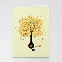 Sounds Of Nature Stationery Cards
