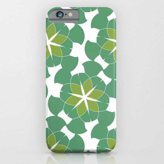 Spring Floral Pattern 1 iPhone & iPod Case