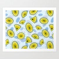 Spring Seed Pattern Art Print