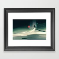 Winter In A Dark World Framed Art Print