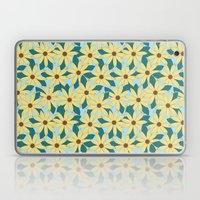 Gerbera Blue Laptop & iPad Skin