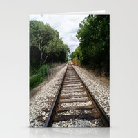 Down The Track (2) Stationery Cards