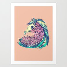 Beautiful Horse Art Print