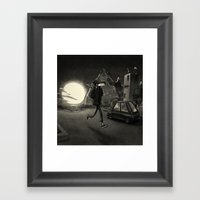 Dusk Framed Art Print