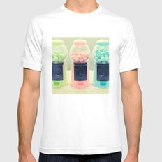 Bubble Gum Mens Fitted Tee White SMALL