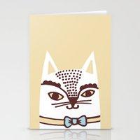 Katze #3 Stationery Cards