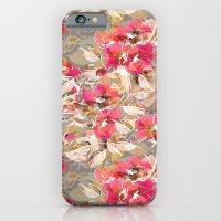 Roses in retro iPhone 6 Slim Case