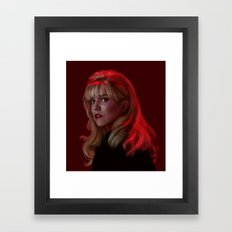 Laura Palmer from Twin Peaks Framed Art Print