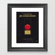 No003 My 2001 A Space Od… Framed Art Print