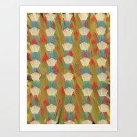 Pattern Goodbye To Autum… Art Print