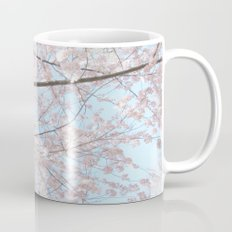 Vintage pink tree Mug