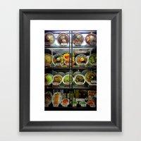 Ramen Choices. Framed Art Print