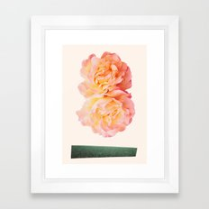 peachy keen Framed Art Print