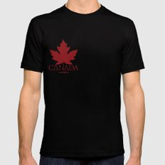 Team Foreign Canada Mens Fitted Tee Black SMALL
