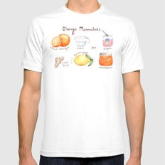 Marmalade SMALL White Mens Fitted Tee