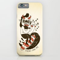 iPhone & iPod Case featuring Vieni con Me by Johnny Cobalto