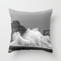 Stevenston Storms Throw Pillow