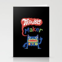 Trouble Maker Stationery Cards